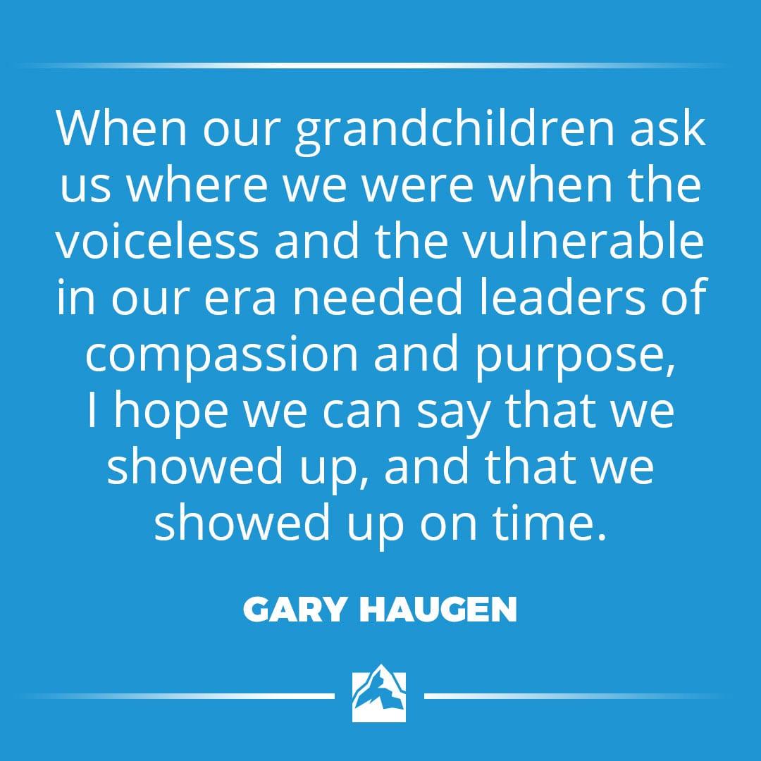 Gary Haugen