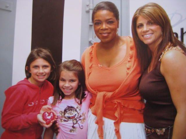 Carolyn Moor with Oprah