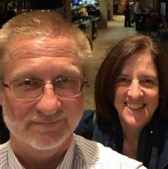 Global Hospitality hosts Mark and Rhonda.