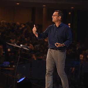 Todd Henry speaks at The Global Leadership Summit 2019.
