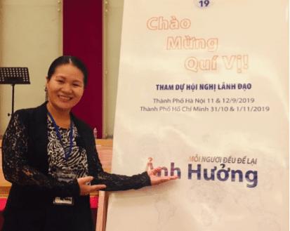 Luu attendee in Vietnam