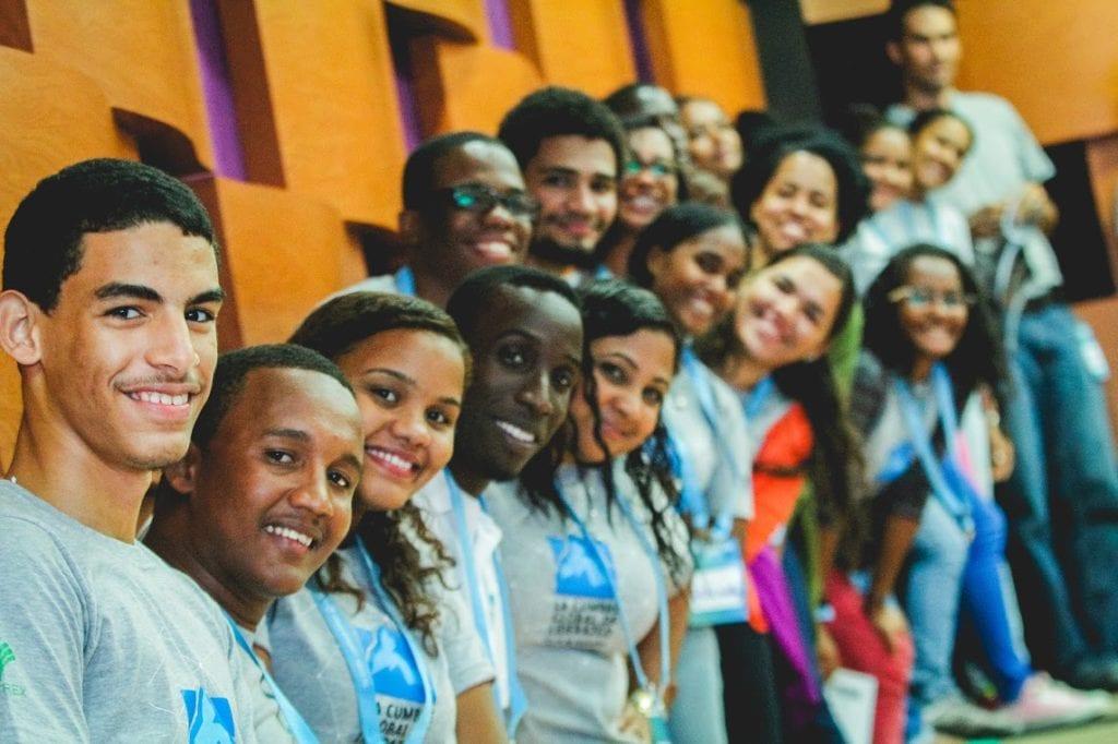 Volunteers at GLS Dominican Republic