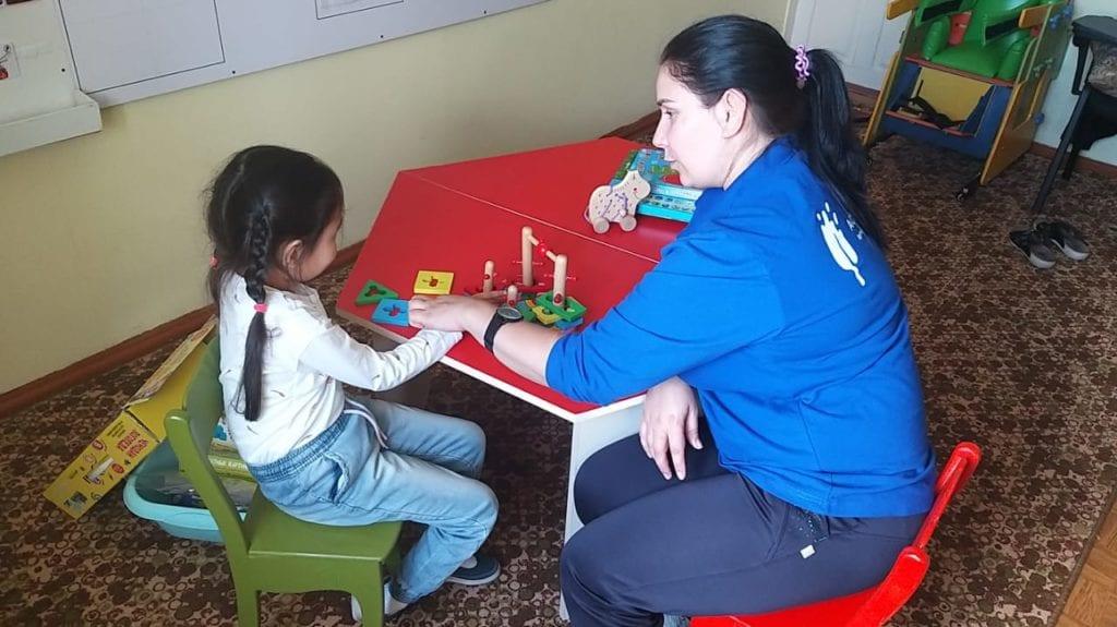 Imamalieva Lyubov Borisovna mentoring child