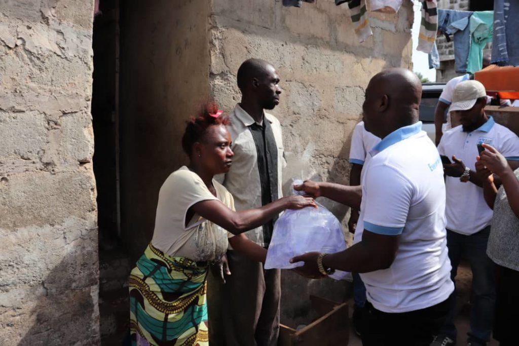 80-Families-in-Sierra-Leone-Receive-Relief-Package-From-Local-Summit-Volunteers