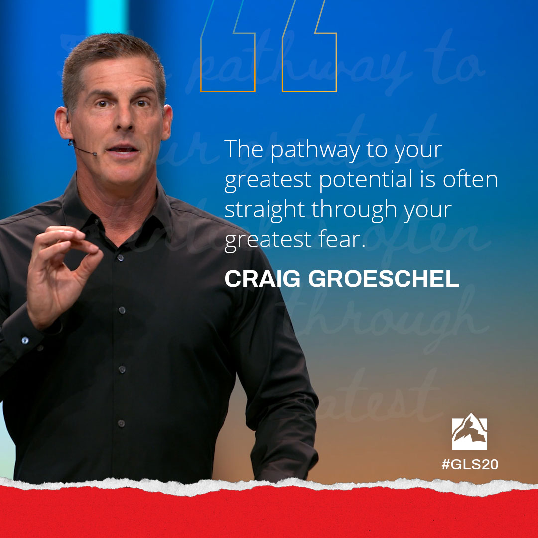 The pathway to your greatest potential is often straight through your greatest fear.