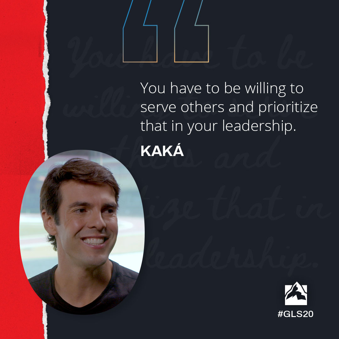 You have to be willing to serve others and prioritize that in your leadership
