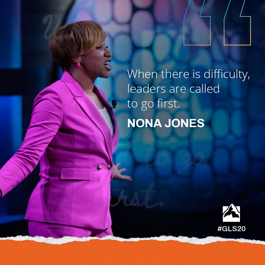 When there is difficulty, leaders are called to go first.