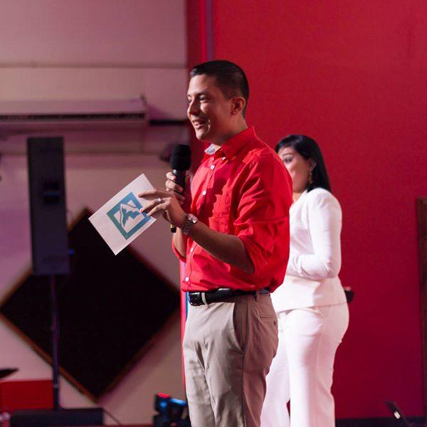 Pastor speaking at Latin America International Summit